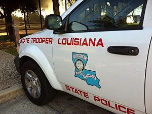La. State Police Vehicle