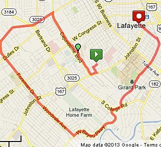 Ride of Silence Route