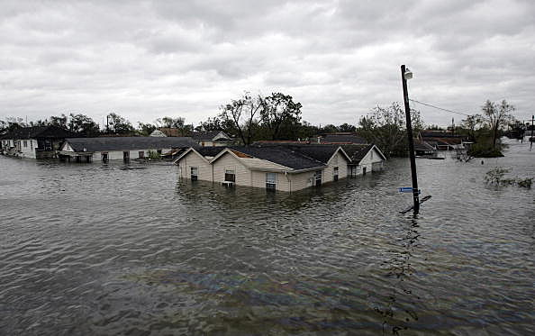 Hurricane Katrina Hits The Gulf Coast