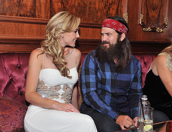 Jessica Robertson and Jep Robertson