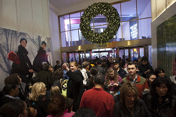 Holiday Shoppers Seek Out Deals On Black Friday