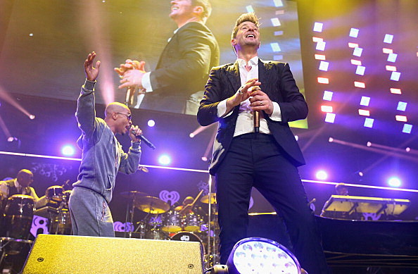 Robin Thicke and T.I.