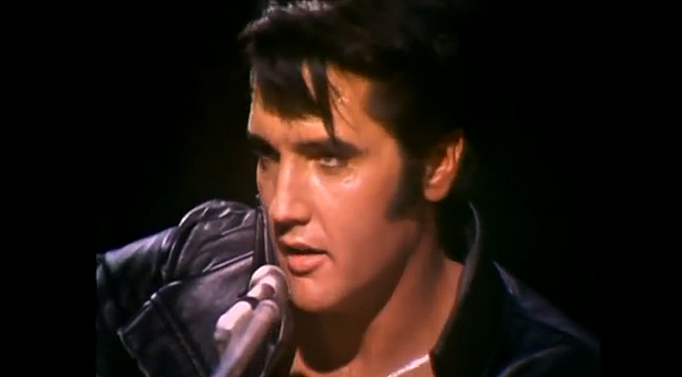 Elvis 'Blue Christmas' Wow, But Who's That Singing? [VIDEO]