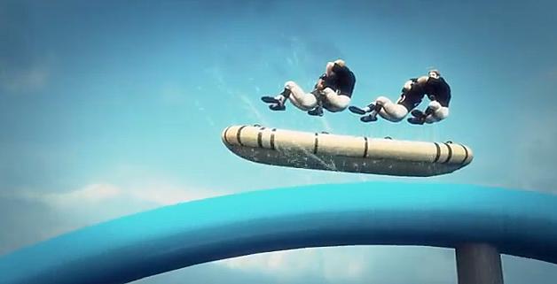 Water Slide Raft