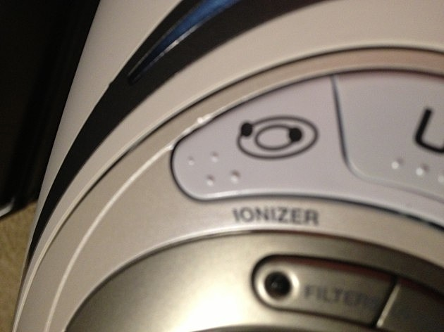 Ionizer Button