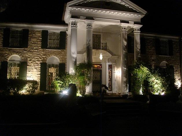 Graceland At Night