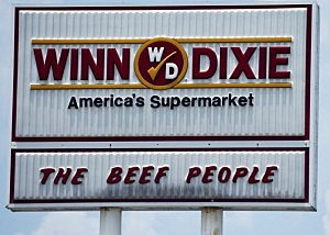 Winn Dixie Sign