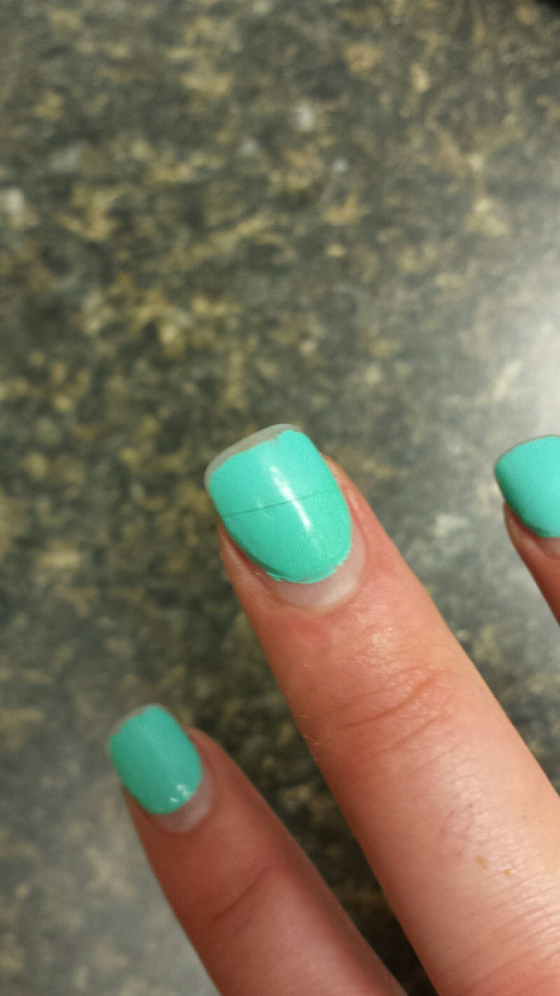 Advice For A Split Acrylic Nail