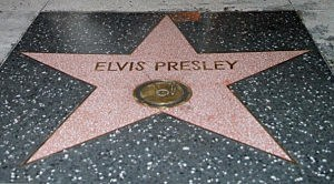 Elvis Presley Star On The Hollywood Walk Of Fame