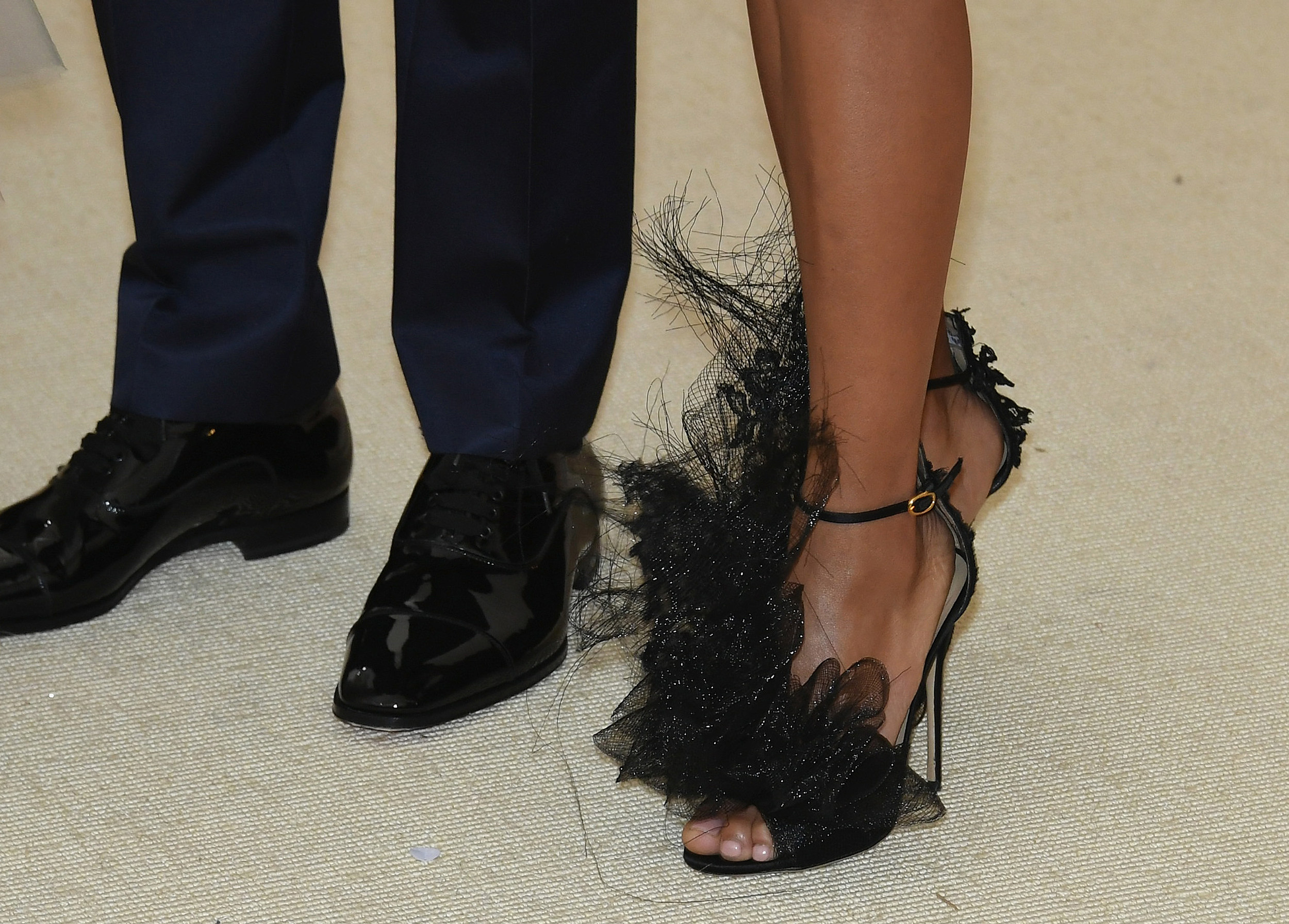 Dating a short guy and wearing heels after ankle
