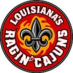 louisiana_ragin_cajuns_round_babdge
