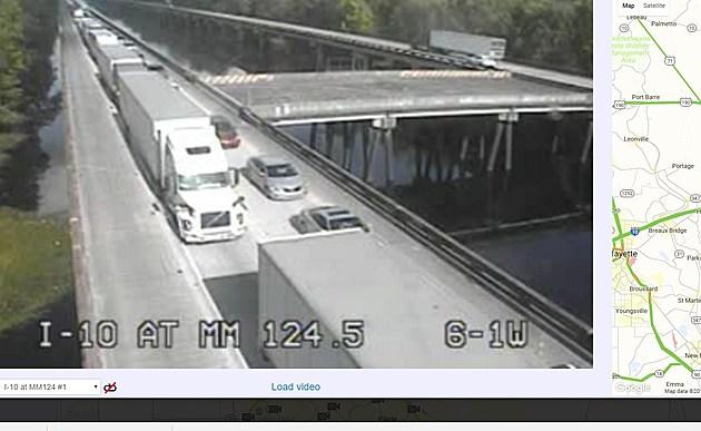 I-10 closure LADOT