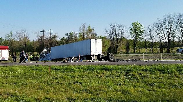 I-10 Crash (Photo courtesy of Paul and Shara Cote)