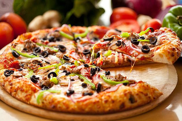Supreme Pizza Slice lift