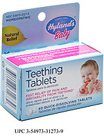 hylands teething recall