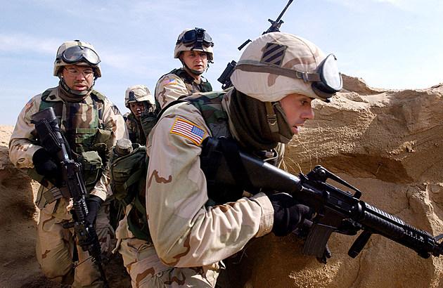 U.S. Troops Train In Kuwait