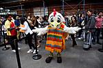 guy in chicken costume