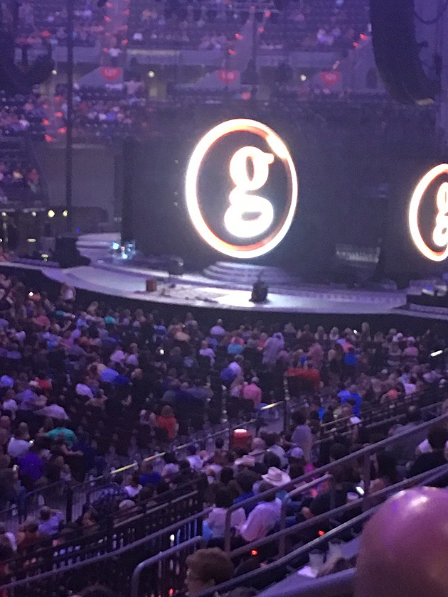 Garth Brooks Stage
