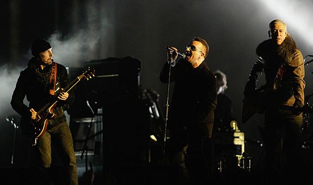 MTV EMAs Present U2 At The Brandenburg Gate