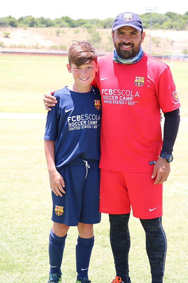 Miguel Andrade and coach (Submitted Photo)